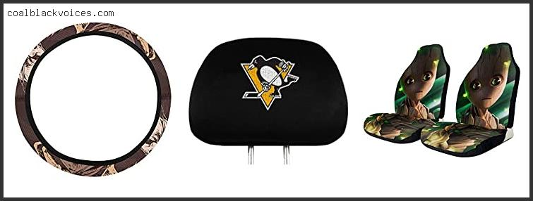 Pittsburgh Penguins Car Seat Covers