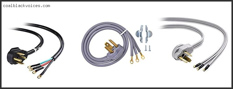 3 Prong L Shaped Dryer Cord