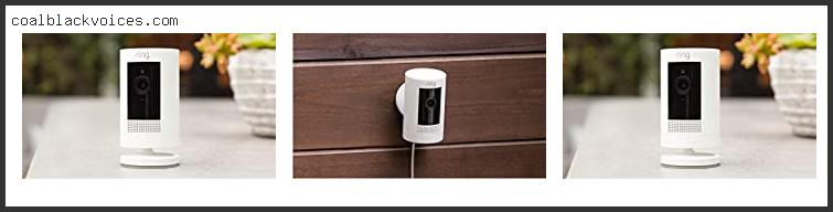Ring Stick Up Cam Battery Hd Security Camera White