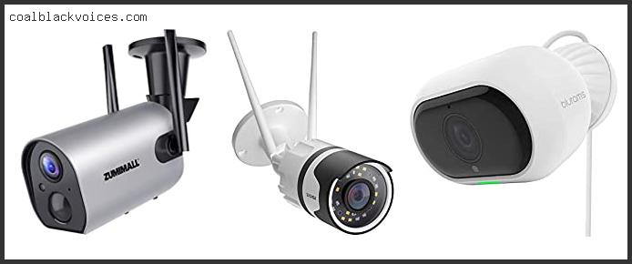 Outdoor Wifi Camera With 2 Way Audio