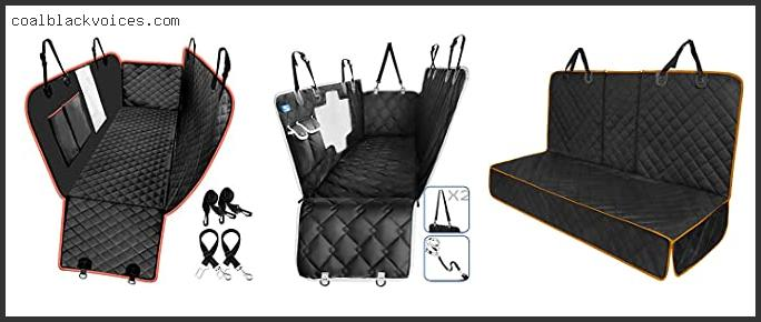 Protective Car Seat Covers For Pets