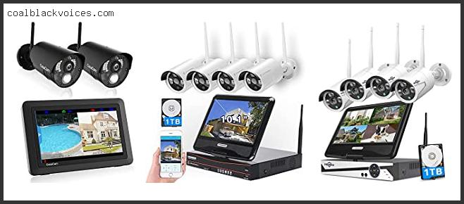 Wireless Security Camera System With Dvr And Monitor