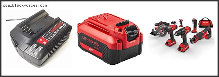 Craftsman 20 Volt Max Power Tool Battery Charger