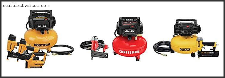 Air Compressor And Tool Combo Kit