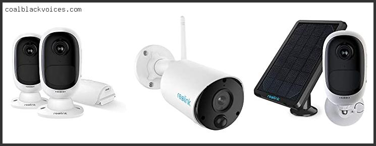 Reolink Outdoor Security Camera Wireless Rechargeable Battery