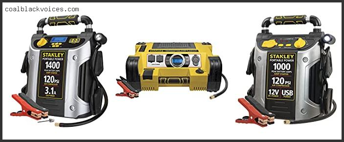 Stanley 1200 Jump Starter With Air Compressor