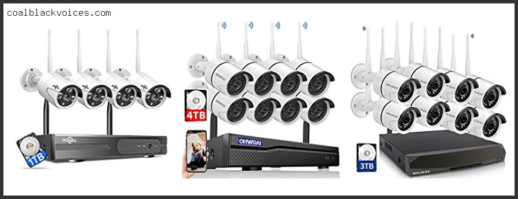 8 Channel Security Camera System Wireless