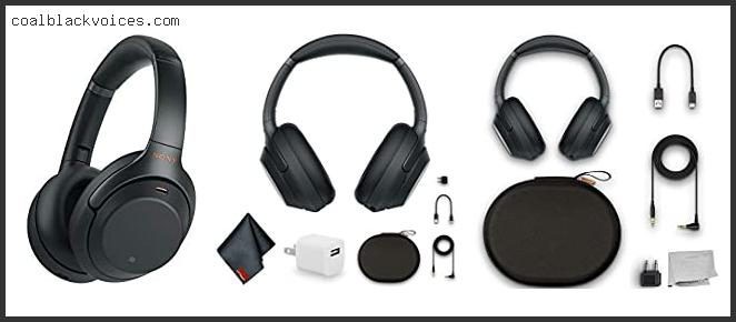 Sony Over Ear Wireless Noise Cancelling Headphones Wh1000xm3 B