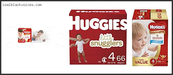 Huggies Little Snugglers Baby Diapers Size 4