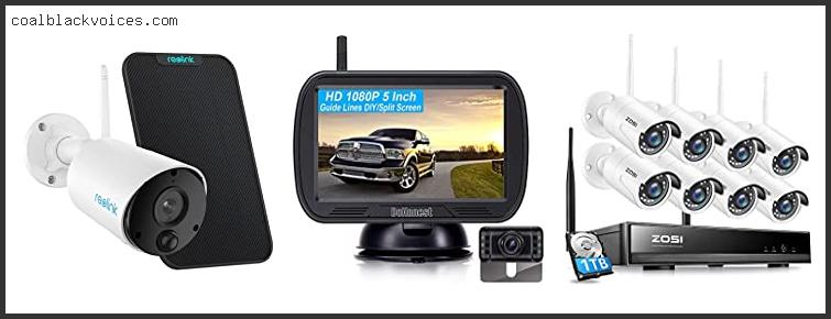 Wireless Camera Security System For Car
