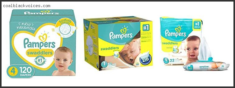 Pampers Swaddlers Sensitive Disposable Baby Diapers Size 4