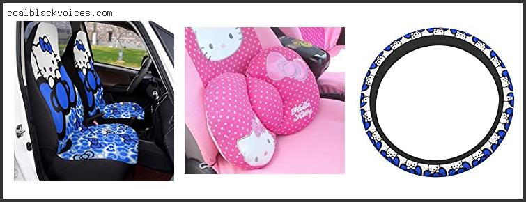 Blue Hello Kitty Car Seat Covers