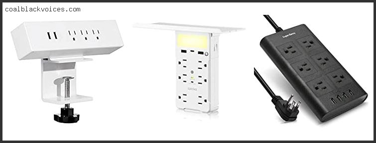 Power Strip With Adjustable Sockets