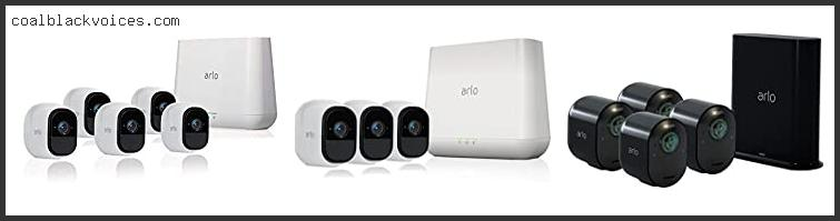 Arlo By Netgear Security System 4 Wire Free Hd Cameras