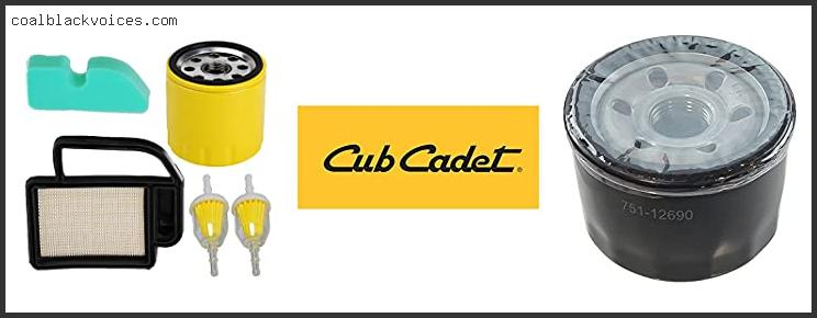 Cub Cadet Oil Filter Replacement