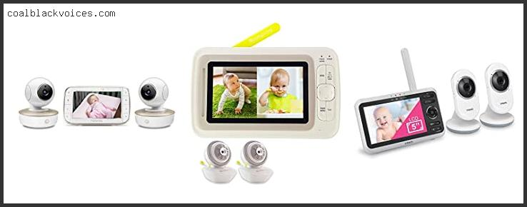 Levana Shiloh 5 Touchscreen Video Baby Monitor With 2 Cameras