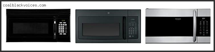 Top 10 Top 5 Over The Range Microwave Ovens Reviews With Products List