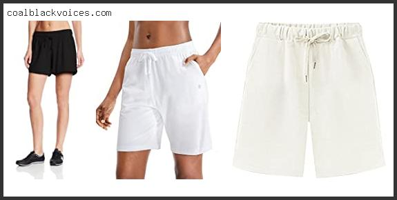 White Stag Women's Knit Shorts 2 Pack