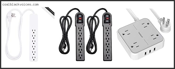 Surge Protector With Replaceable Fuse