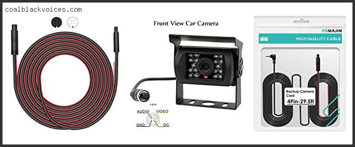 Top #10 4 Pin Reverse Camera Plug With Expert Recommendation