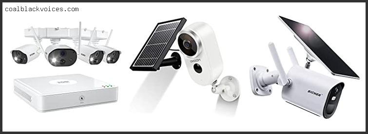 Battery Powered Wireless Security Camera System