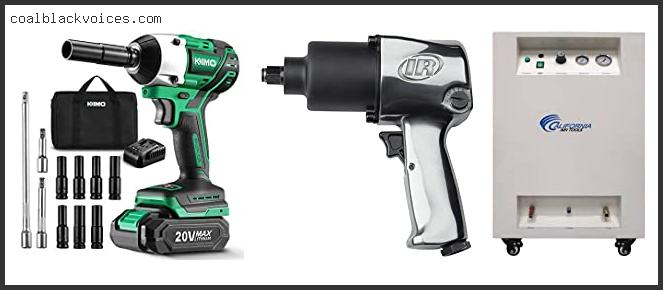 Air Compressor Impact Wrench Combo